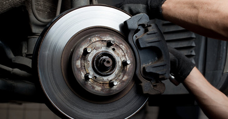 Car Brake Pads Replacement