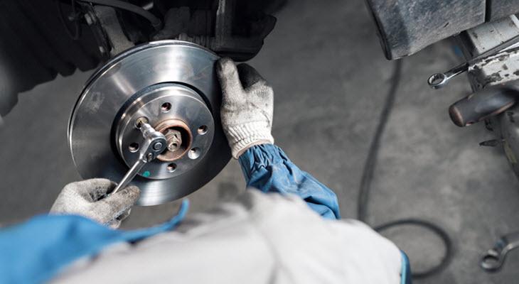 Mercedes Brake Replacement