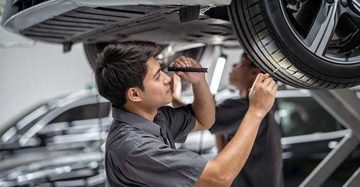 Audi Tire Check