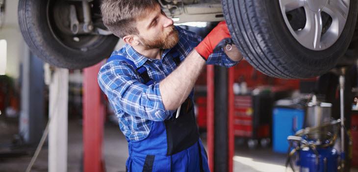 BMW Tie Rod Inspection
