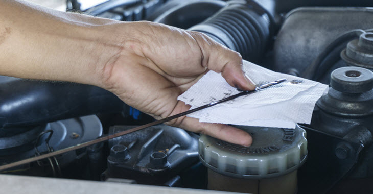 Porsche Engine Oil Check