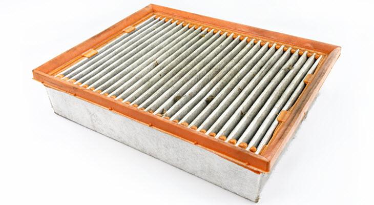 Volkswagen Dirty Air Filter