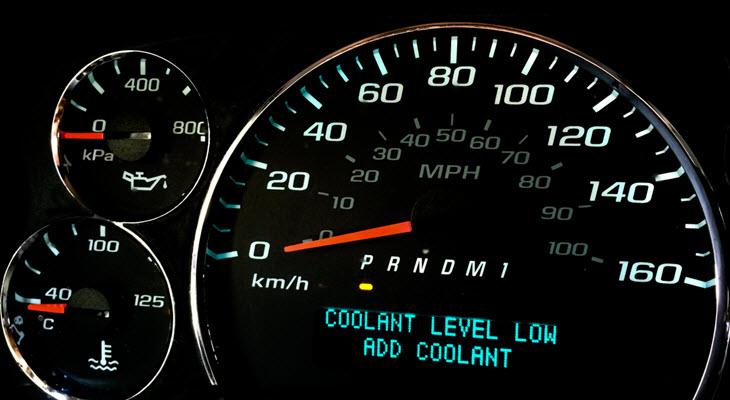 Jaguar Coolant Leak